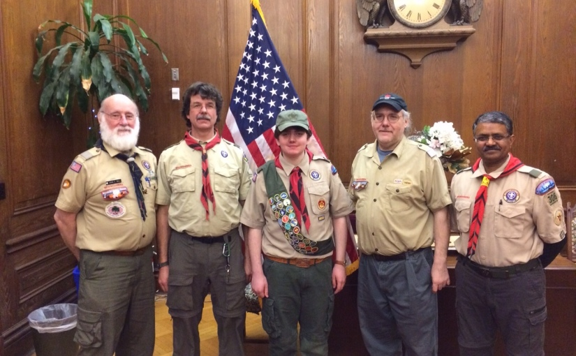 Luke Black earns Eagle Scoutrank